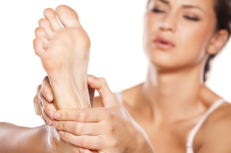 Reflexology for weight loss